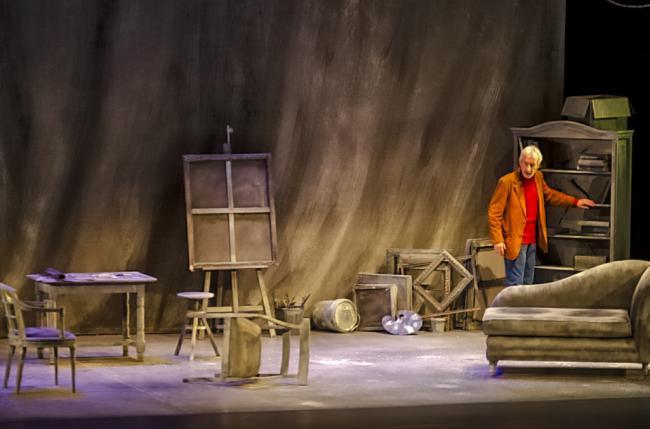 José Sacristán enamora con una lección de teatralidad en un repleto Maestro Padilla