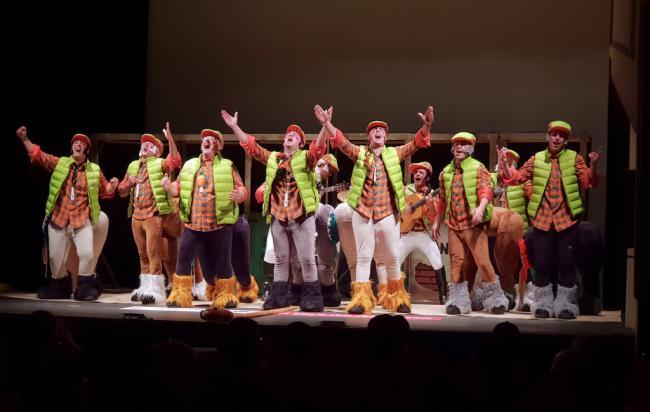 Protagonismo de las murgas en los cuartos de final del Concurso de Agrupaciones de Carnaval