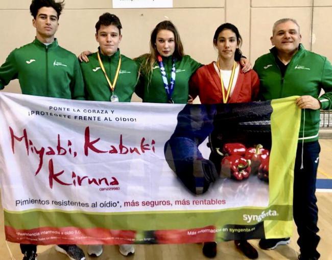 La EDM Alianza KSV consigue tres medallas en el Campeonato de España de Lucha