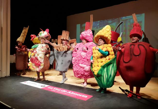 Sabor a final en la tercera sesión de cuartos del concurso de agrupaciones del Carnaval de Almería