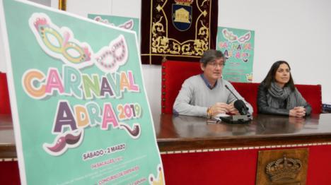 Adra potencia sus Fiestas de Carnaval