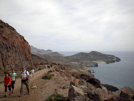 El PMD organiza una nueva ruta de senderismo a través del Desierto Tabernas