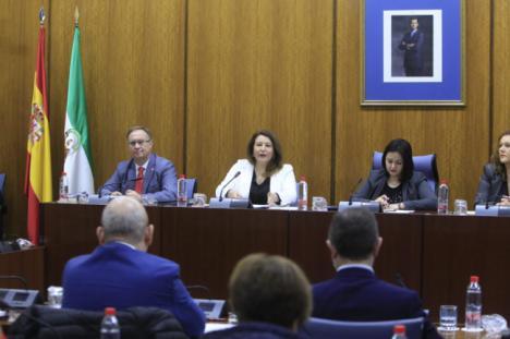 """Crespo se fija que """"ningún euro de fondos europeos"""" que llegue a Andalucía se quede sin utilizar"""