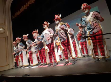 Último pase de semifinales en el concurso de agrupaciones de Carnaval