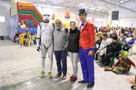 El Carnaval de Santa María del Águila se transforma en una gran carpa de circo