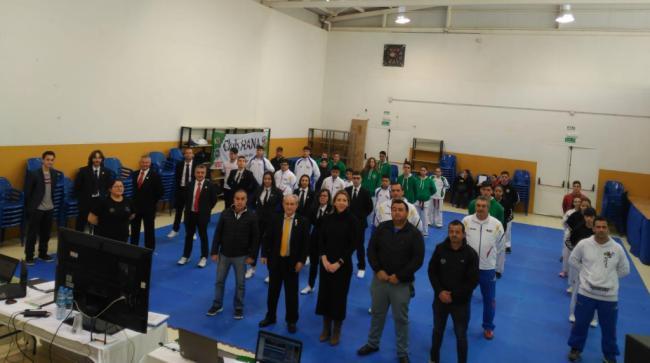 San Agustín acoge un curso de arbitraje de Taekwondo