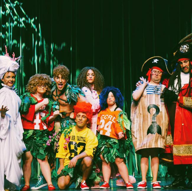 Doble sesión en el Maestro Padilla con el musical inclusivo de 'Peter Pan'