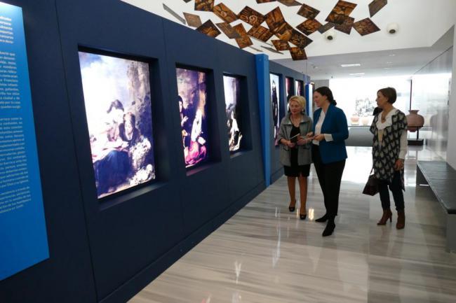 """Eloisa Cabrera visita en el Museo la muestra """"Murillo, excelentísmo"""""""