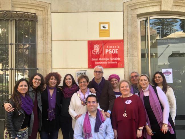 El PSOE secunda el paro de dos horas con motivo del 8M