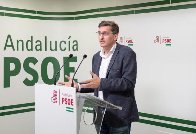El PSOE denuncia que Almería quedará bloqeuada si no hay presupuesto en la Junta