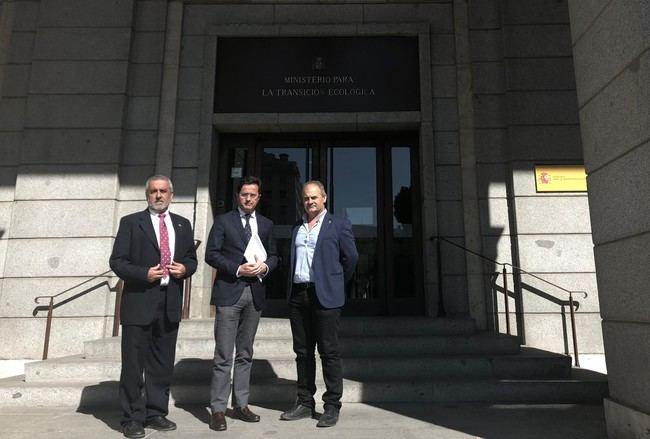 Costas compromete con el alcalde de El Ejido un estudio sobre los problemas de Balerma