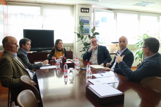 La delegada de Agricultura se reúne con ECOHAL Almería