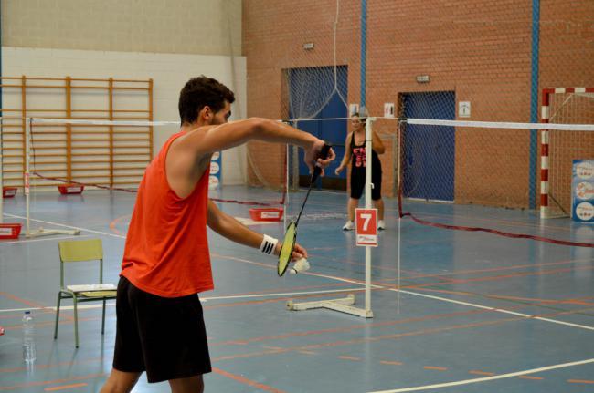 87 jugadores en la 3ª prueba de los Juegos Deportivos de Bádminton