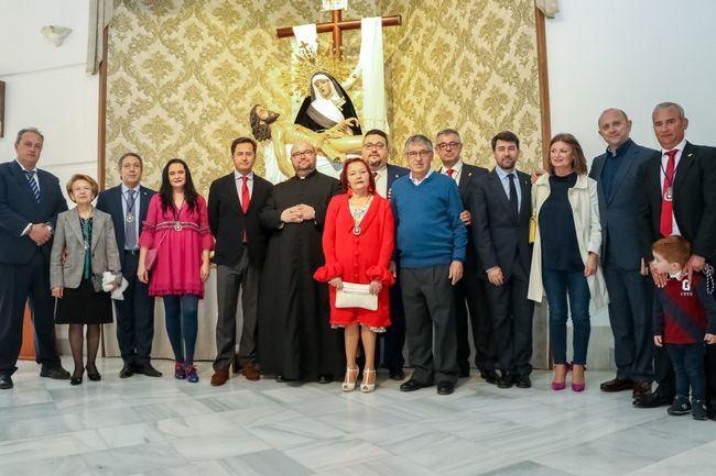 Jesús Zapata es pregonero de la Cofradía de Las Angustias en la parroquia de La Loma de la Mezquita
