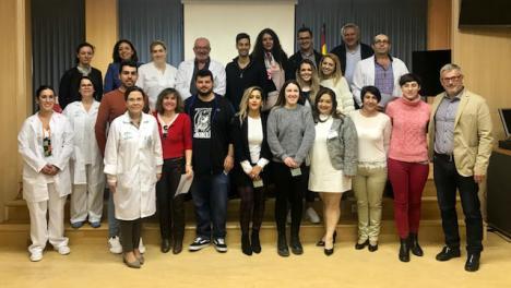 El Hospital de Huércal-Overa recibe al alumnado de Formación Profesional