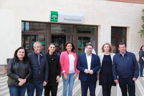 El PSOE denuncia que el Gobierno de la derecha quiere devaluar el Hospital de Poniente
