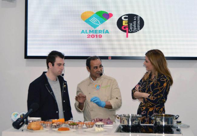 José Herrera, ganador del Goya al mejor corto de animación, visita la sede de Almería 2019