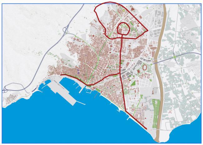 Valverde propone vertebrar el urbanismo de Almería según la figura de un indalo