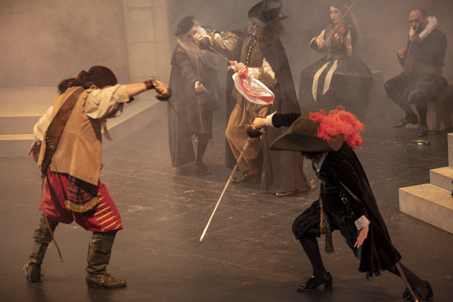 Teatro, baile y música en directo se unen en un divertido enredo del Siglo de Oro