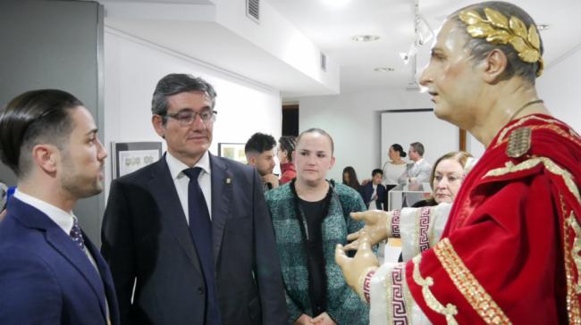 La Hermandad de la Humildad y la Esperanza presenta la nueva imagen de Poncio Pilato