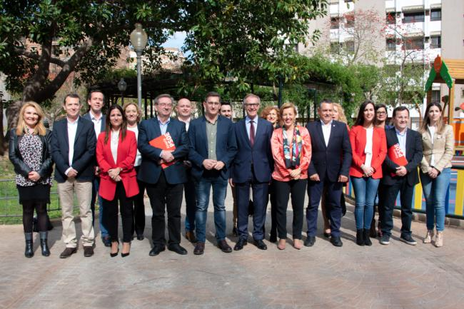 """Sánchez Teruel: """"La candidatura del PSOE representa a lo mejor que tiene esta tierra"""""""