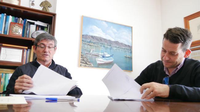 El alcalde de Adra afirma la redacción del proyecto de 'Rincones con Encanto'