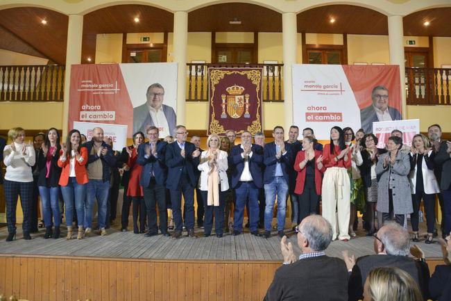"""El PSOE llama a una """"gran movilización"""" para frenar a la derecha el 28 de abril"""