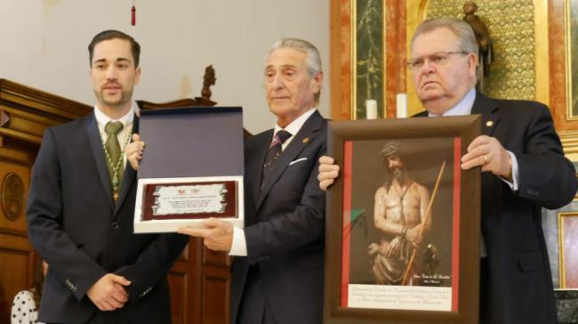 El abderitano Antonio Vela emociona con su pregón de Semana Santa 2019