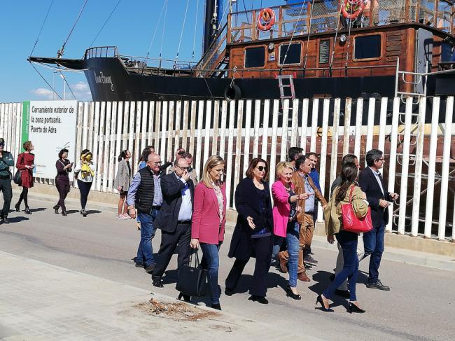 El puerto de Adra se someterá a una reordenación para potenciar el turismo