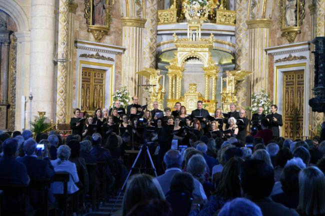 El Coro del Colegio de Abogados cierra el 16º Ciclo de Música Sacra