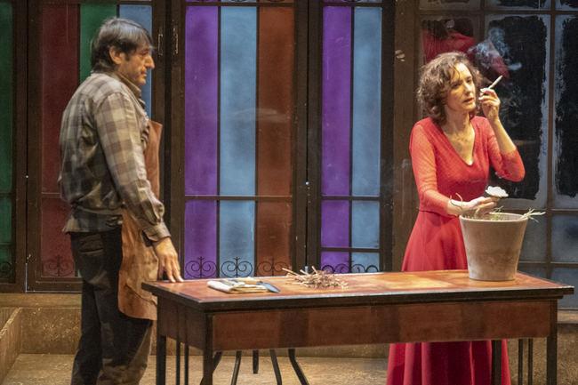 Carmelo Gómez y Ana Torrent brillan en la intensa obra 'Todas las noches de un día'