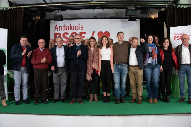 El PSOE de Almería presenta a 1.274 candidatos para las municipales