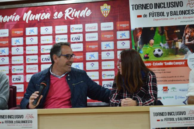 El PMD colabora con el Torneo Inclusivo de Fútbol y Baloncesto