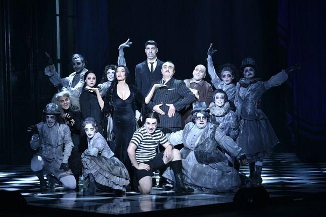 28 artistas harán disfrutar con el musical 'La Familia Addams'