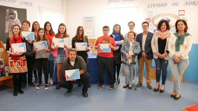 Entregados los premios del XX Certamen Literario de Narración Corta y del XVIII Certamen de Cuentos