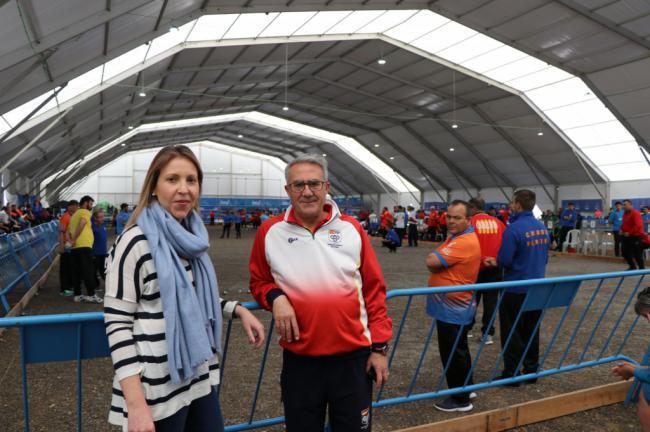1.500 personas en el XXII Campeonato de España en Liga de Comunidades de Petanca en Almerimar