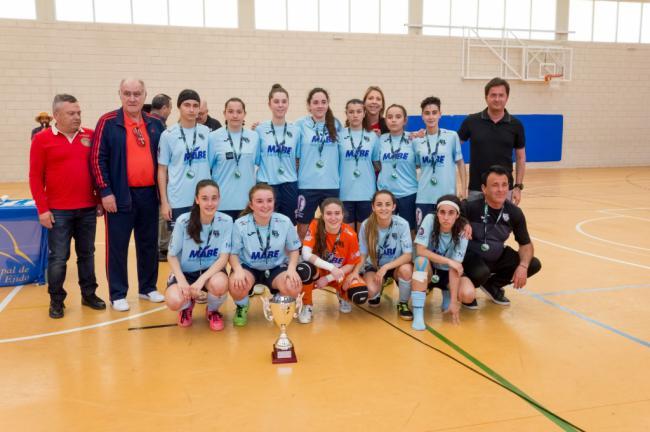 Final femenina del Campeonato de Andalucía Juvenil de fútbol sala en El Ejido