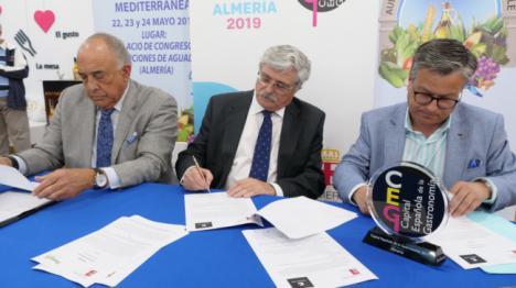 Aula de la Dieta Mediterránea y Grupo Cosentino se unen por la salud