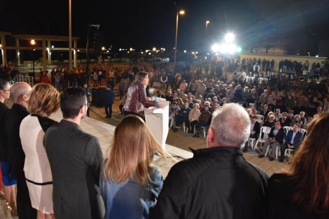 Susana Díaz presenta a la candidata a la alcaldía del municipio del que fue alcaldesa Carmen Crespo