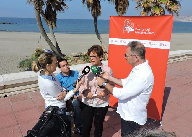 Valverde (PSOE): 'Es posible otro turismo en Almería'
