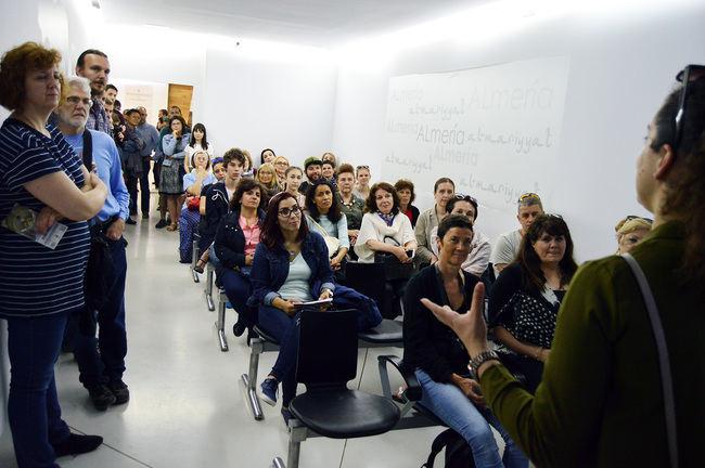 Profesores y personal universitario de otros países visitan el Centro de Interpretación Patrimonial