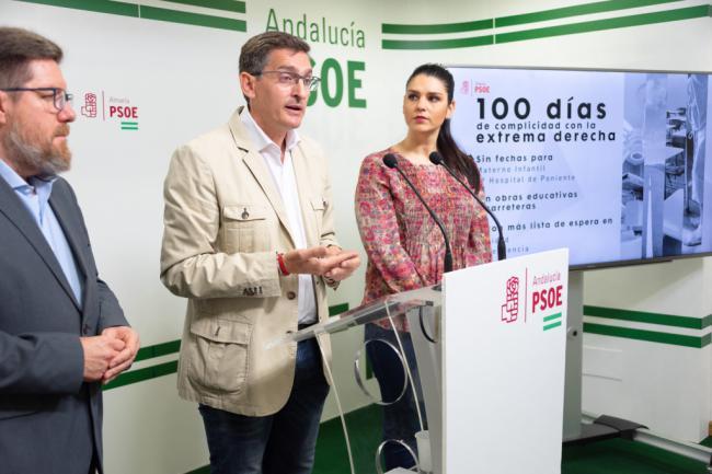 Sánchez Teruel dice que el gobierno andaluz 'no tiene nada que ofrecer a Almería'