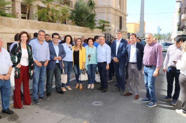 El alcalde de El Ejido apoya la petición de rebaja fiscal para los agricultores