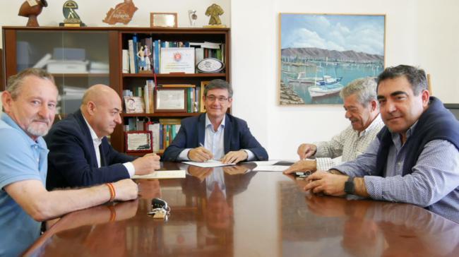 Firmada la ampliación del Consultorio Médico de La Curva