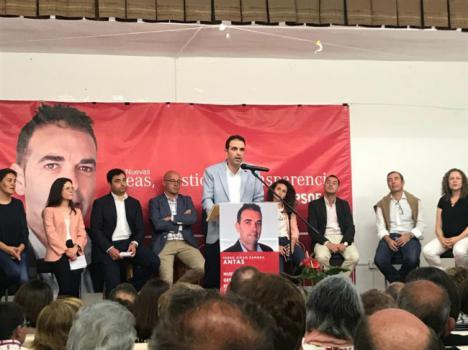 Pedro Ridao propone un cambio en el Ayuntamiento para hacer de Antas