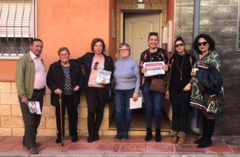 """Mari Carmen Soriano: """"El PSOE es el único que garantiza que Benahadux siga avanzando"""""""