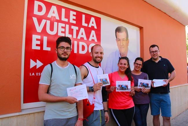 JJSS de El Ejido piden 'darle la vuelta' en las municipales