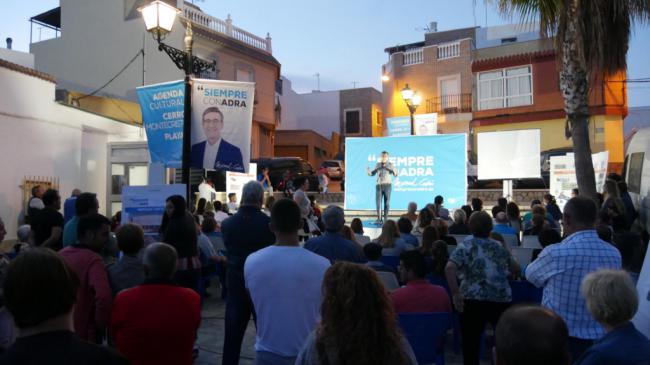El alcalde de Adra confirma proyectos por valor de 10 millones de euros