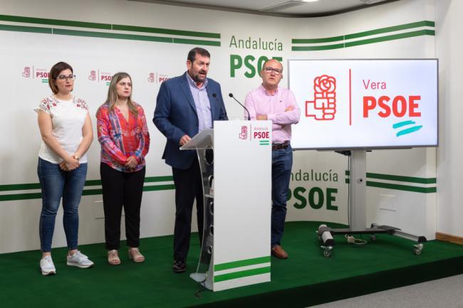 El PSOE de Vera presenta una candidatura para gobernar