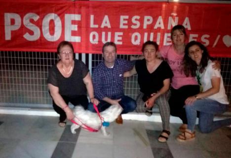 El PSOE quiere convertir Chercos en un pueblo 'verde'